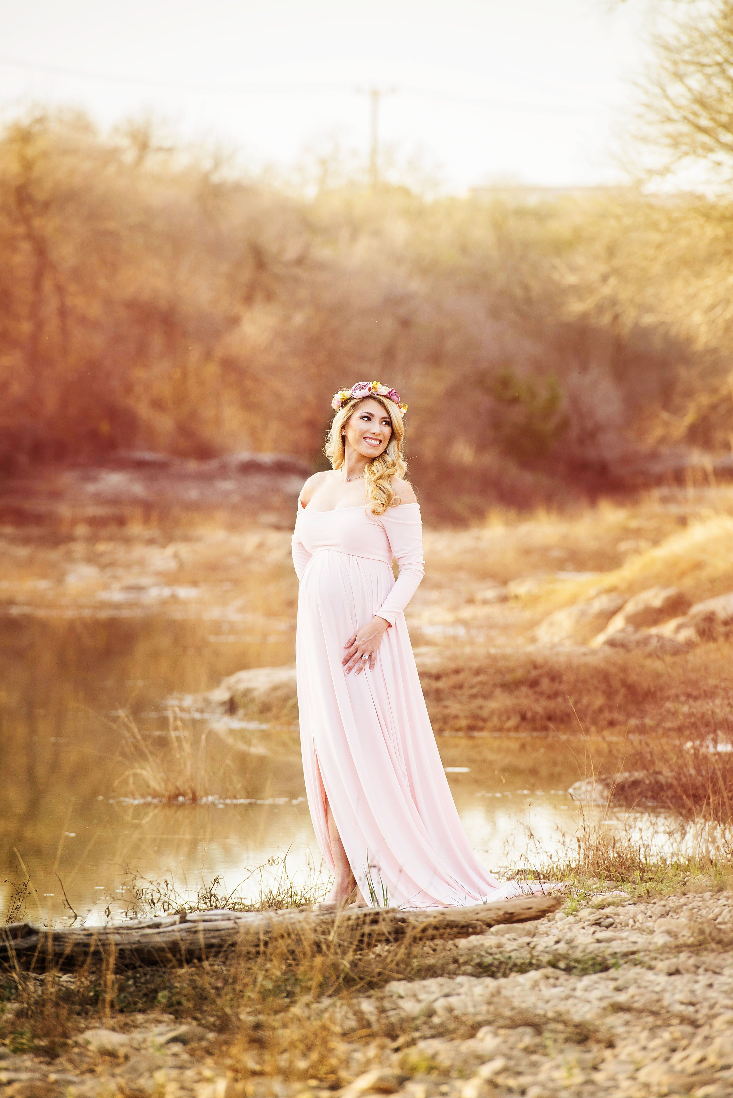 Mackenzie Maternity Maxi Gown