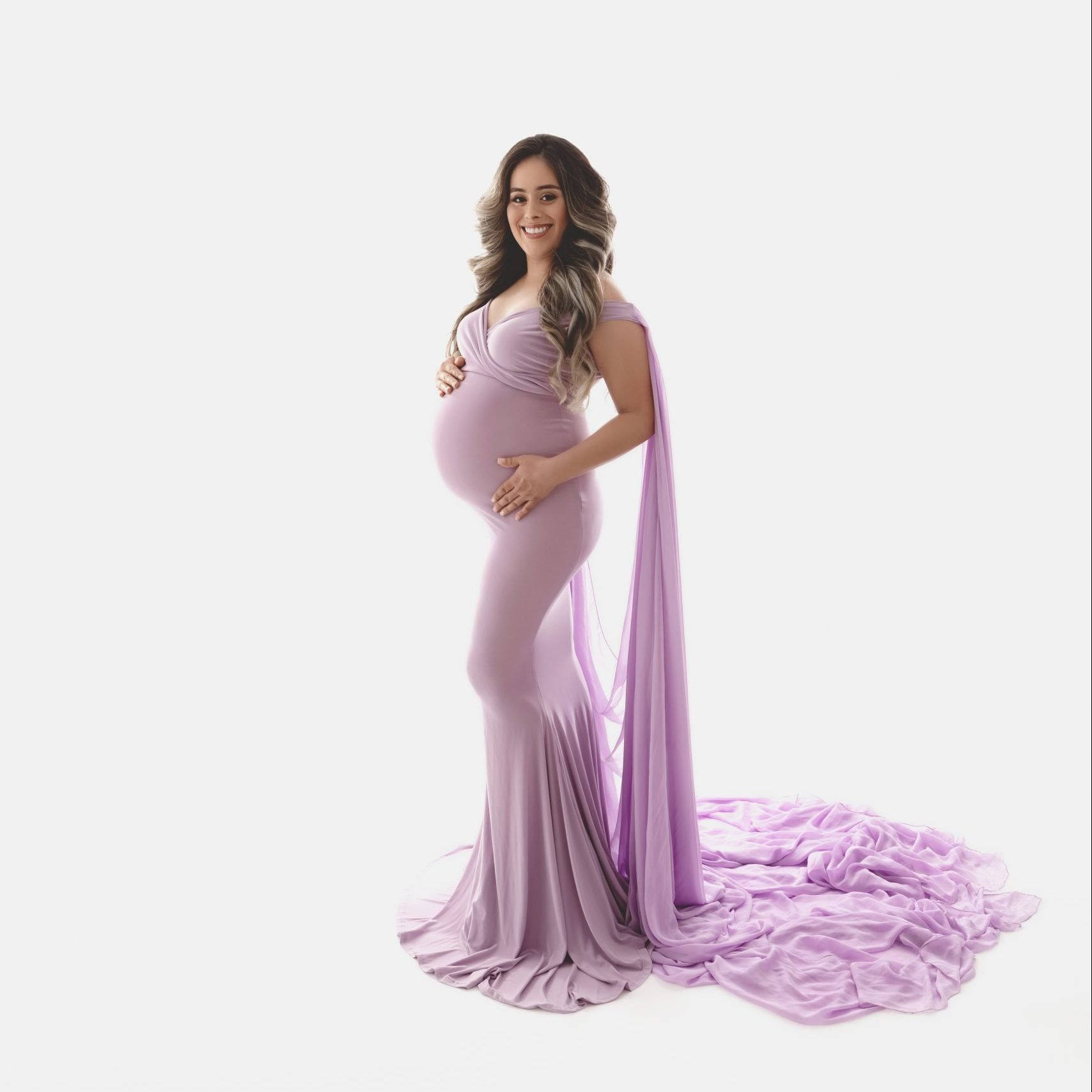 Serene Maternity Gown, Miss Madison Boutique