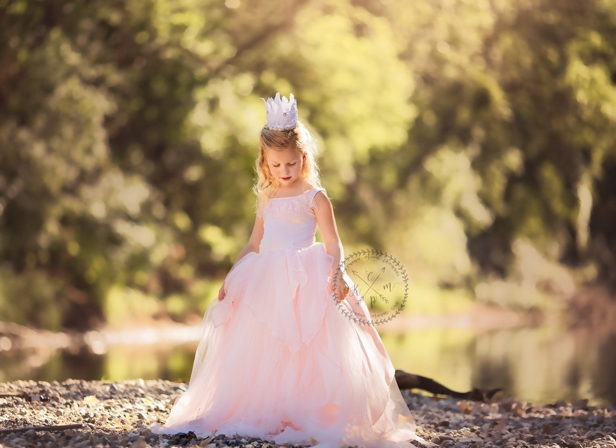 Kendall Girls princess Gown