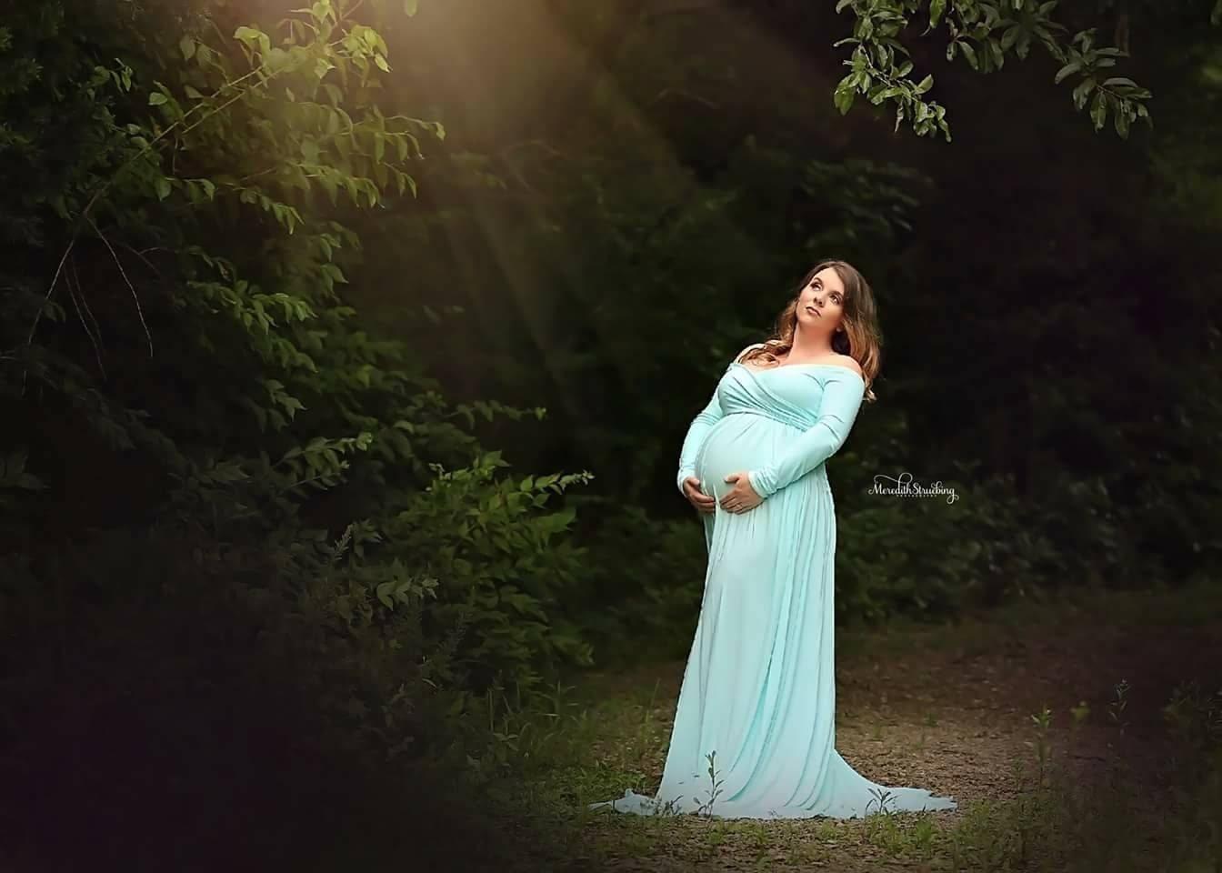 Elizabeth Maxi Style Maternity Dress