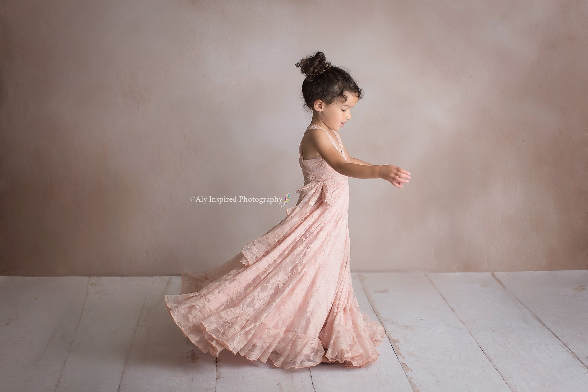 Sl;oan girls lace infinity dress, Miss Madison Boutique
