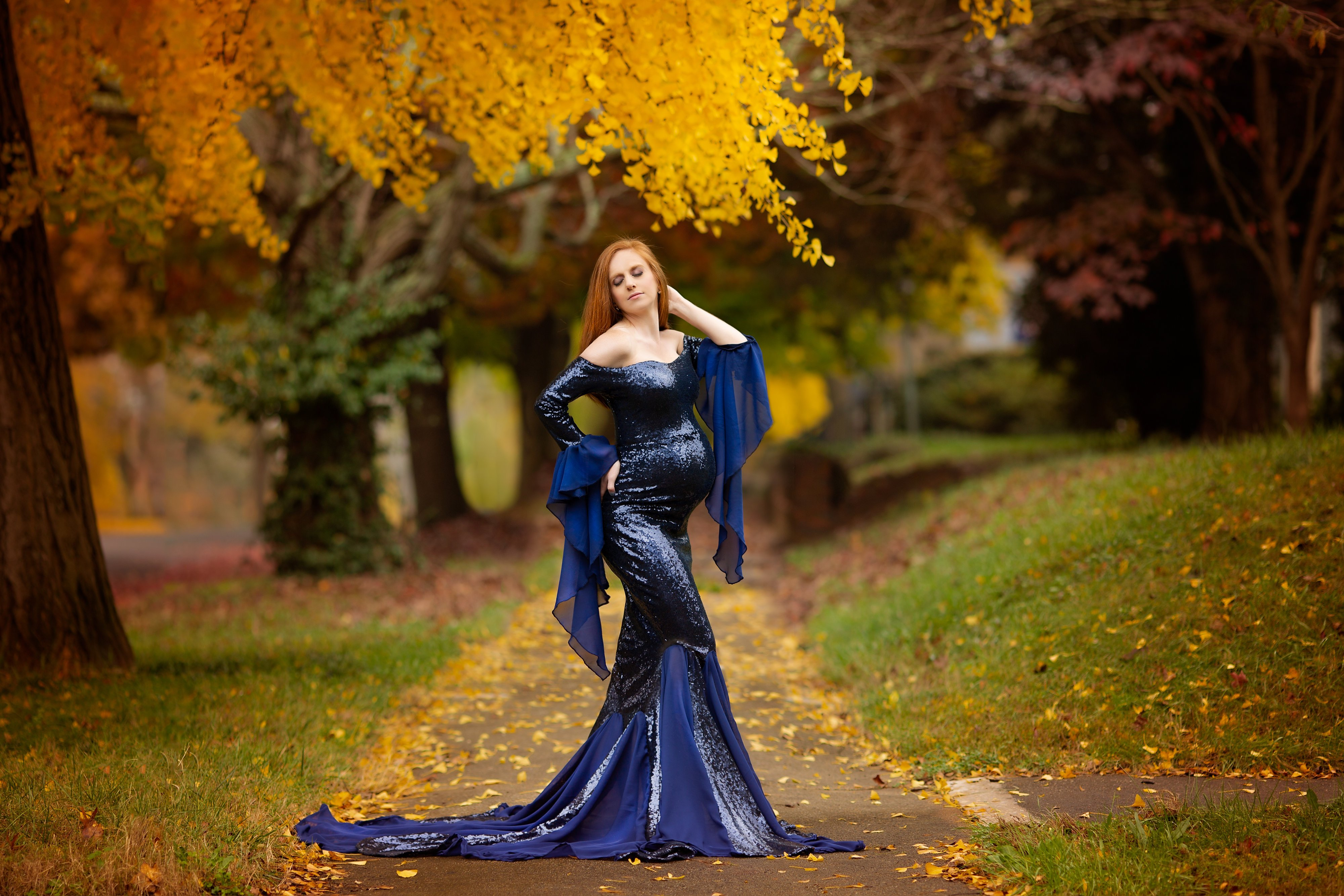 Gwendolyn sequin formal gown