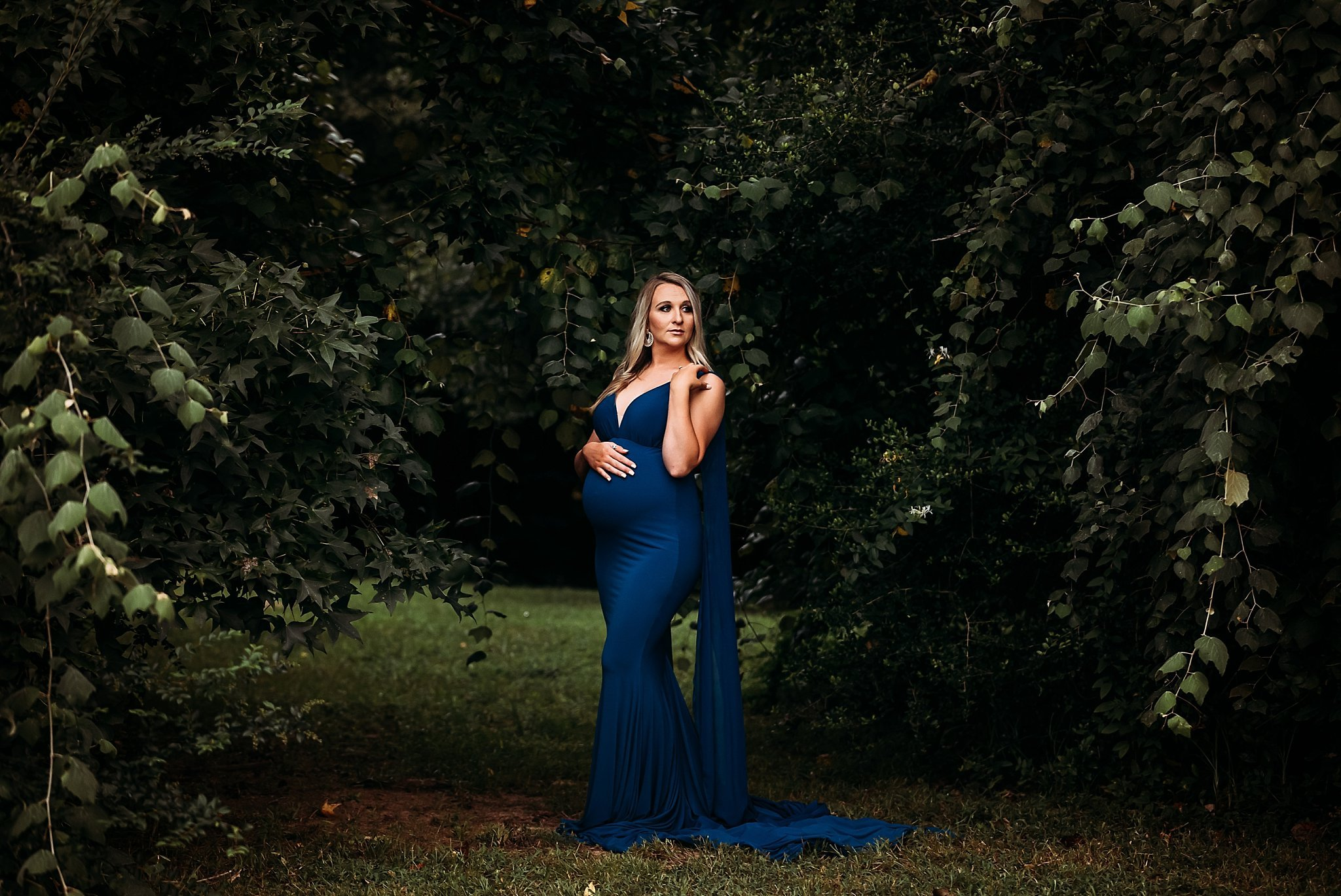 Grace Fitted Maternity Gown